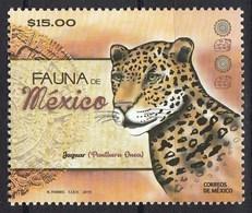 Mexico 2019 Fauna Jaguar 1v MNH - Felinos