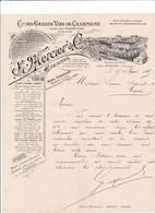 51-E.Mercier Cie Des Grands Vins De Champagne  Epernay   (Marne) 1895 - France