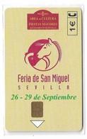 Spain - Telefónica - Feria San Miguel - P-508 - 05.2002, 5.400ex, NSB - Private Issues