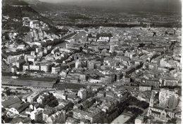 Grenoble Vue Panoramique Aérienne A Gauche L'isère - Grenoble