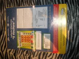 Lotteria Istantanea Gratta E Vinci-locandina - Biglietti Della Lotteria