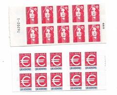 Lot  4 Carnets TTTTB état  ( +/- 30€ Faciale)et Autres Voir Scans - Markenheftchen