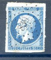 France N°14 OBL - PC 839 (Chemin) - (F583) - 1853-1860 Napoleon III