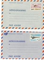 Aérogramme CONCORDE 1001-AER Et 1005-AER Neuf - Entiers Postaux