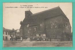 19 - Corréze - Lamaziere Basse  - Carte Peu Courante : L église Et Chapelle - Non Classés