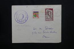 ALGÉRIE - Enveloppe De Oran Pour Oran En 1962 , Affranchissement Plaisant En Timbres Français - L 49785 - Algeria (1924-1962)