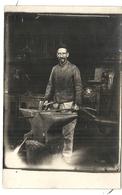 CPA PHOTO . MR FONTAINE . FERRONNIER A VILLIERS - Villiers Le Bel