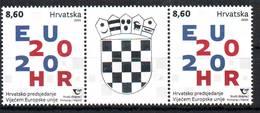 Croatia 2020 Y CROATIAN PRESIDENCY OF THE COUNCIL OF THE EUROPEAN UNION SLS MNH - Kroatië