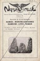 Rare Fascicule Excursion Namur Meuse - Marche Les Dames Nameche Lives - Dépliants Touristiques