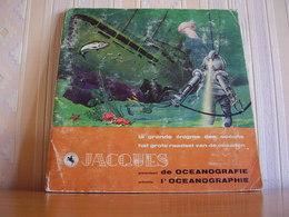 Album Chromos Images Vignettes Chocolat Jacques *** Océanographie *** - Albums & Catalogues
