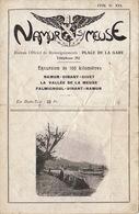 Rare Fascicule Excursion Namur Meuse - Dinant Givet Falmignoul Vallée - Toeristische Brochures