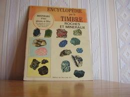 Album Chromos Images Vignettes Encyclopédie Par Le Timbre *** Roches Et Minéraux *** - Album & Cataloghi