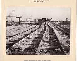 Haut-rhin : KEMBS : Construction Du Barrage Et écluse : Usine Et Canal De Fuite - Ripeuse Déplaçant Les Voies - 1928-32 - Lugares