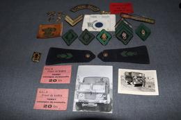 Important Lot De 23 Pièces Original ,Légion étrangère,photos,etc....collection - Army & War