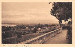 Lausanne Promenade Du Languedoc - VD Waadt