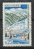 ANDORRE-FR   - 1966 - Nr 175 - Oblitere - Andorre Français