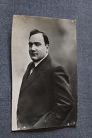 Belle Photo Ancienne De Enrico Caruso 1925 ,dimensions ; 14 Cm./ 9 Cm. - Célébrités