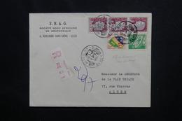 ALGÉRIE - Affranchissement Sans Surcharge Sur Enveloppe Commerciale En Recommandé De Alger En 1962 Pour Alger - L 49801 - Algerije (1962-...)