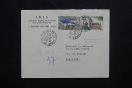 ALGÉRIE - Affranchissement Sans Surcharge Sur Enveloppe Commerciale En Recommandé De Alger En 1962 Pour Alger - L 49802 - Algerije (1962-...)