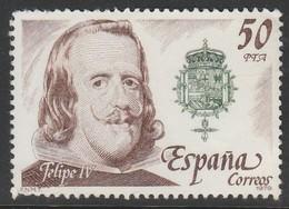 Spain 1979 Spanish Kings - Habsburg Dynasty 50Pta Multicoloured SW 2453 ** MNH - 1931-Hoy: 2ª República - ... Juan Carlos I