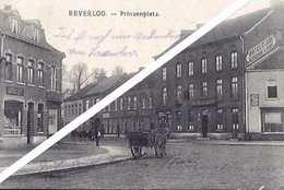 BORGLOON  BEVERLOO  Prinzenplatz  Voyagé 1917  TOP CARD   (263) - Borgloon