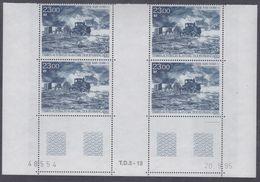 TAAF P. A.  N° 138 XX Raid Dome/C, Enblos De 4 Coin Daté Du 20.9.95 à 60% De La Faciale  Sans Charnière, TB - Unused Stamps