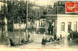BEZIERS  = INONDATIONS Service De Ravitaillement   1235 - Beziers