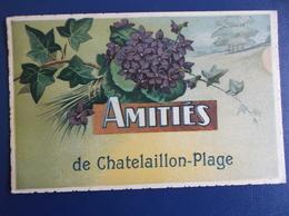 17 CHATELAILLON : AMITIES De...  , C.P.A.,carte En Bon état - Châtelaillon-Plage