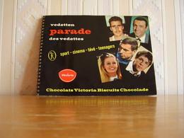 Album Chromos Images Vignettes Chocolat Victoria *** Stars - Vedettes Cinéma - Football - Cyclistes *** N° 1 - Albums & Catalogues
