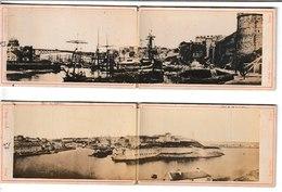 Finistère BREST 2 Doubles Photographies Cartonnées Emile Mage 107 Rue De Siam - Lieux