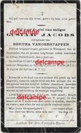 Oorlog Guerre Gustaaf Jacobs Wezemaal Soldaat Gesneuveld Te Soltau 1917 Vanderstappen Lubbeek - Andachtsbilder