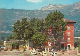 ROVERETO-TRENTO-HOTEL=S.ILARIO=INSEGNA=SALI E TABACCHI=COCACOLA-CARTOLINA VERA FOTOGRAFIA -VIAGGIATA IL 1-1-1985 - Trento
