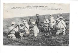 Guerre Franco-Allemande 1914. - Mitrailleuses... (Militaria) - Guerre 1914-18