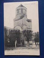 17 COZES :  L'EGLISE , C.P.A.,carte En Bon état - Autres Communes