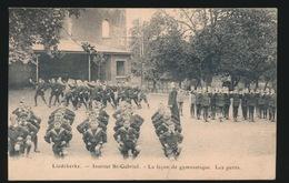 LIEDEKERKE  INSTITUT ST GABRIEL LA LECON DE GYMNASTIQUE  LES PETITS - Liedekerke