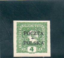 POLOGNE 1919 * - 1919-1939 République