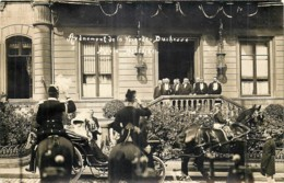 Luxembourg - Carte-Photo - Avénement De La Grande Duchesse Marie-Adelaïde - Luxemburg - Stadt
