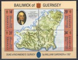 GUERNSEY  Yv BF 7 , Duke Of Richmond's  ** - Guernesey