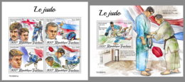 TOGO 2019 MNH Judo M/S+S/S - OFFICIAL ISSUE - DH2001 - Judo