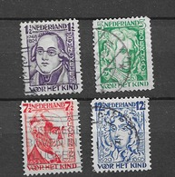 1928 USED Nederland NVPH 220-23 - Period 1891-1948 (Wilhelmina)
