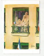 Cp,illustrateur Signée TETSU , Coquine ,humour ,les Grands Humoristes, Tirage1000 Ex.,  Vierge - Illustrateurs & Photographes