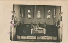 64 - CAME - Carte Photo De L'interieur De L'eglise En 1924 - Francia