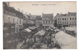 """72 MAMERS """" Place Carnot , Le Marché """" - Mamers"""