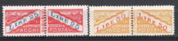 San Marino 1946 Pacchi Postali Sass.PP31/32 **/MNH VF - Spoorwegzegels