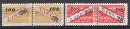 San Marino 1948 Pacchi Postali Sass.PP33/34 **/MNH VF/F - Colis Postaux