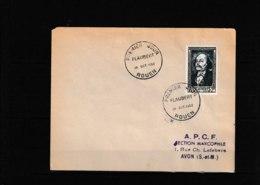 930  FDC 1952  Gustave Flaubert écrivain «Célébrité Du XIX Siècle»    Il Peut  Avoir 2 Scans  645 - FDC