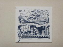 Ex-libris Illustré Fin XIXème - RUDOLF BENKARD - Ex-libris