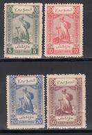 Postes Locales, Mogador A Marrakech,1898  Yvert Nº 92, 93, 94, 96 MH - Marokko (1891-1956)