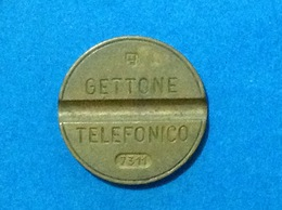 1973 ITALIA TOKEN GETTONE TELEFONICO SIP USATO 7311 ESM - Italia