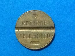 1972 ITALIA TOKEN GETTONE TELEFONICO SIP USATO 7204 ESM - Italia